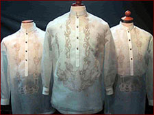 Any groom would surely look dashing in these barongs from Exclusively His.