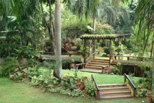 Garden wedding venue at Jardin de Miramar
