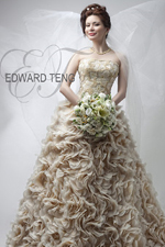 Wedding gown by Edward Teng