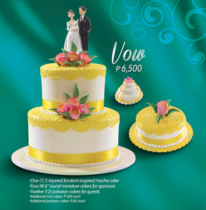 goldilocks customized cakes