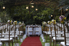 A True Garden Wedding Experience