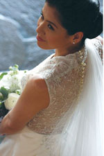 Wedding gown by Merlene Marcelo Couture