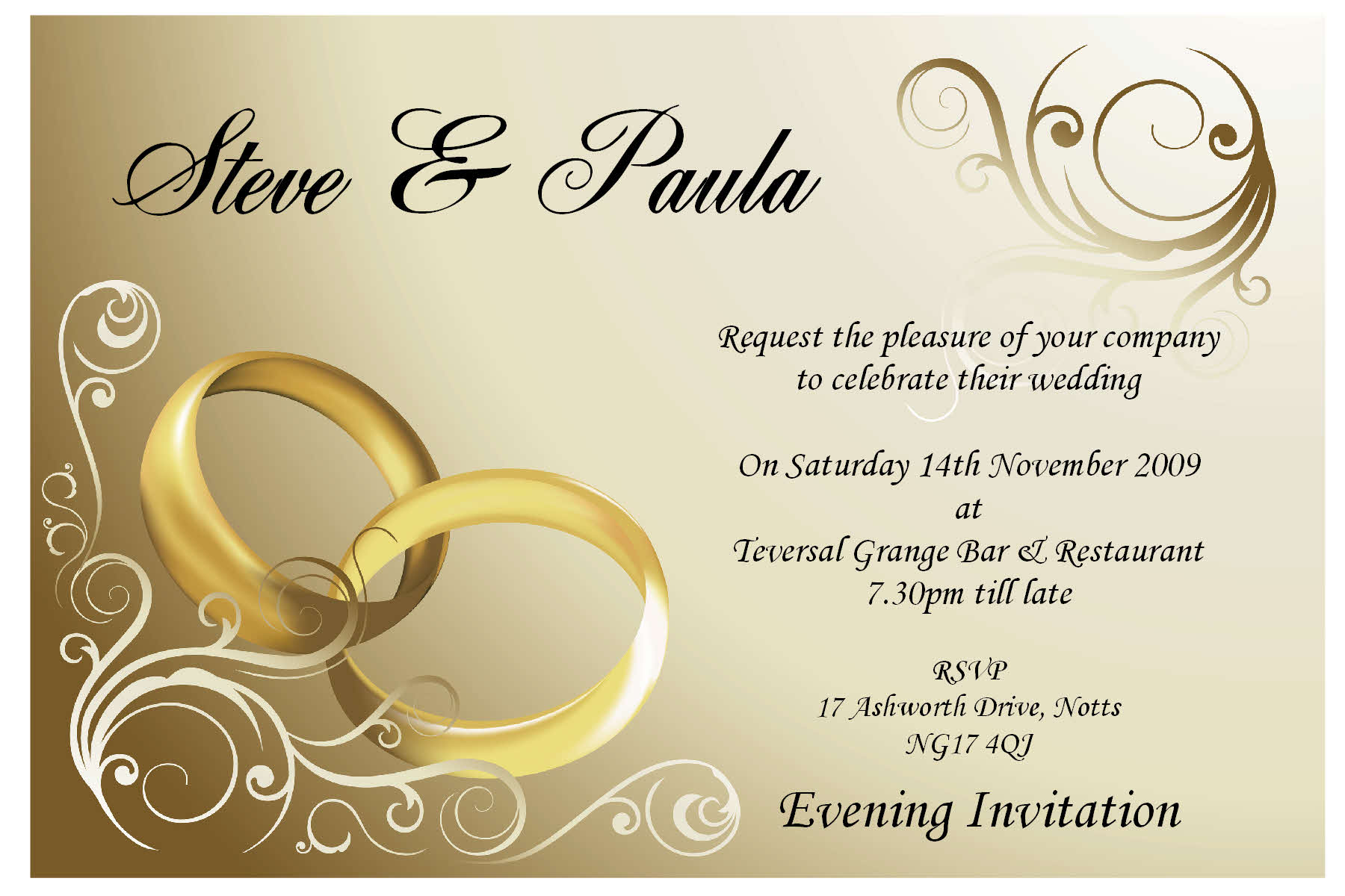 Online Wedding Invitations Free for great invitations example