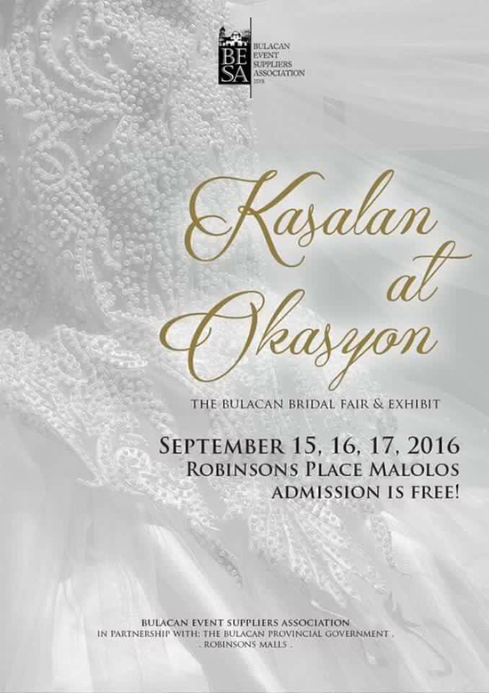 Kasalan at Okasyon, The Bulacan Bridal Fair & Exhibit
