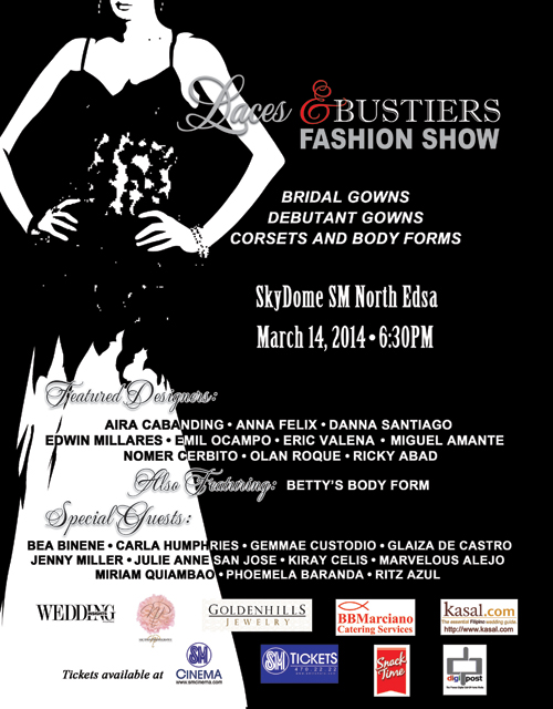Laces and Bustiers Fashion Show