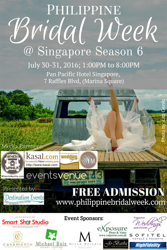 Philippine Bridal Week at Singapore Season 6