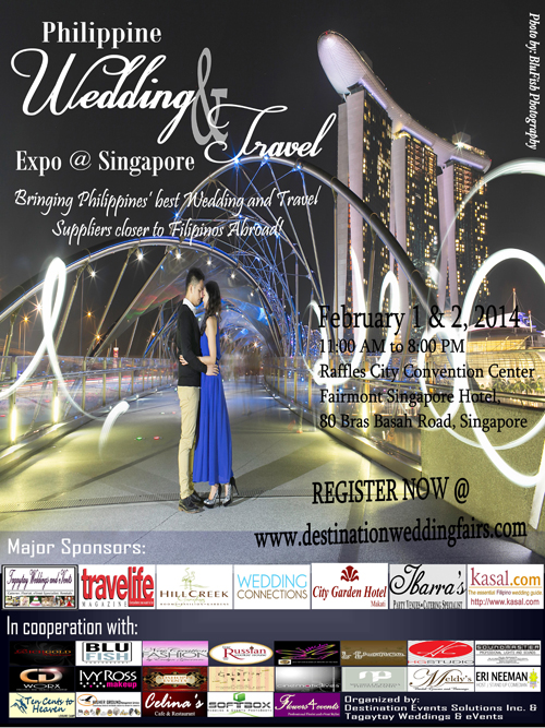 Philippine Wedding & Travel Expo @ Singapore