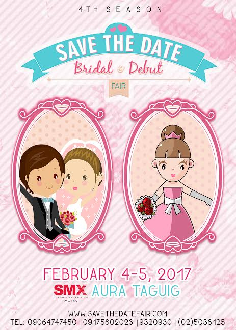 Save The Date Bridal and Debut Fair