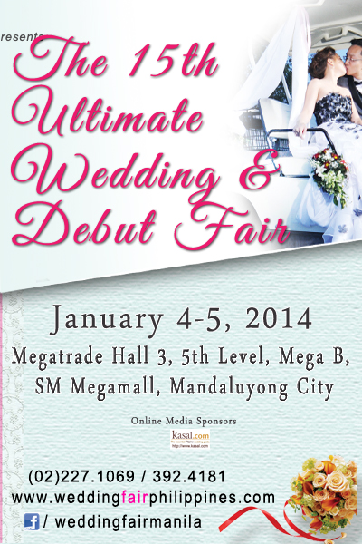 The 15th Ultimate Wedding and Debut Fair