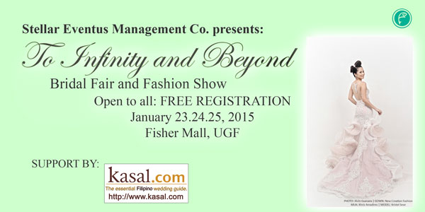 To Infinity and Beyond Bridal Fair and Fashion Show