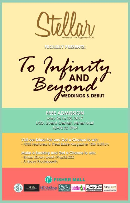 To Infinity and Beyond Wedding & Debut