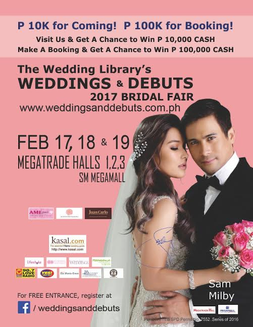 Weddings & Debuts 2017 Bridal Fair
