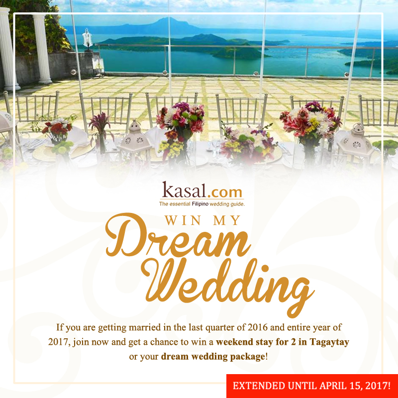 Win My Dream Wedding