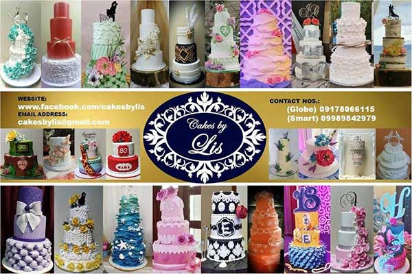 Cakes by Lis  Metro Manila Wedding Cake Shops   Metro Manila Wedding Cake Artists   Kasal.com - The Philippine Wedding Planning Guide