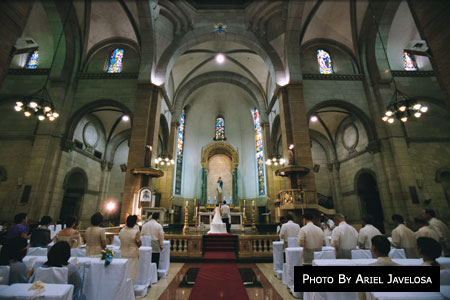 Minor Basilica of the Immaculate Conception (Manila Cathedral)| Metro Manila Wedding Catholic Churches | Kasal.com - The Philippine Wedding Planning Guide
