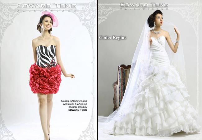 Wedding Gown by Edward Teng