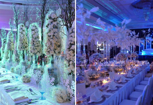 Winter Wedding Styling by Henry Pascual