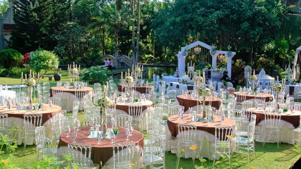 Garden wedding venues the essential for Tagaytay wedding venue