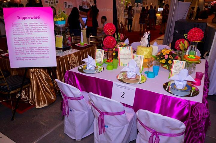 Wedding Table Presentation by Tupperware