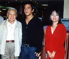 Rustan's honcho, Ambassador Bienvenido Tantoco, ABS-CBN's Global Mon Lopez and Metro EIC Thelma Sioson-San Juan