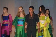 Oliver Tolentino and his colorful designs