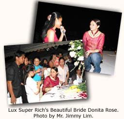 Lux Super Rich's Beautiful Bride Donita Rose