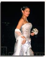 Ms. Nina Ricci Alagao, in one of Sari-Sari's bridal collection