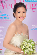 Korina Sanchez is a glowing bride in Metro Weddings Special Best Weddings Issue