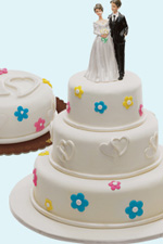 Affordable DeLUXE Wedding Cakes