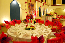 Wedding Reception Set-up at Plaza Ibarra
