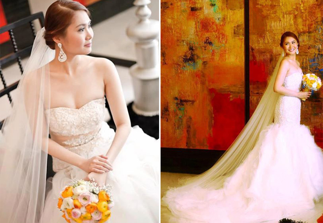 Real Bride Wedding Gown by New Creation Fashion By Evelyn G. Guerrero