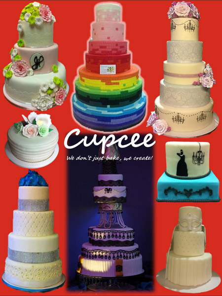 Cupcee| Metro Manila Wedding Cake Shops | Metro Manila Wedding Cake Artists | Kasal.com - The Philippine Wedding Planning Guide