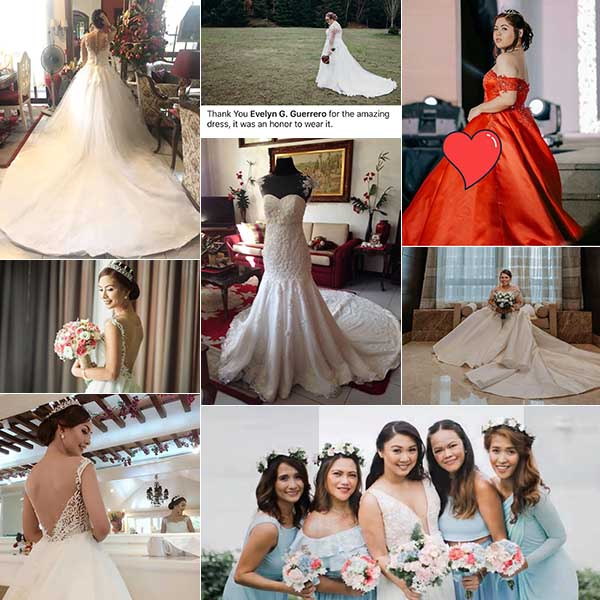 New Creation Fashion By Evelyn G. Guerrero| Laguna Wedding Gowns | Laguna Bridal Gowns | Laguna Wedding Designers, Couturiers | Kasal.com - The Philippine Wedding Planning Guide