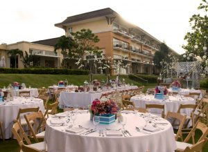 taal vista hotel outdoor reception
