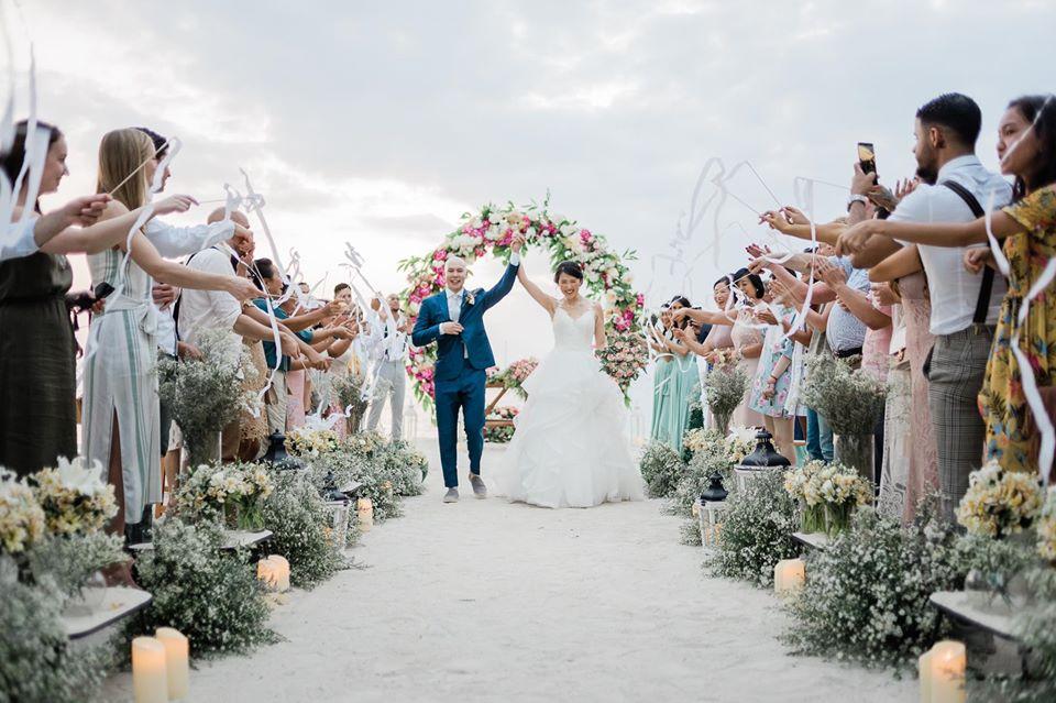 Beach Wedding at Pearl Farm, documented by The Organic Studios