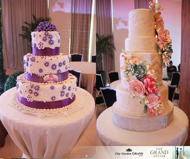 city garden grand hotel the grand affair wedding cakes