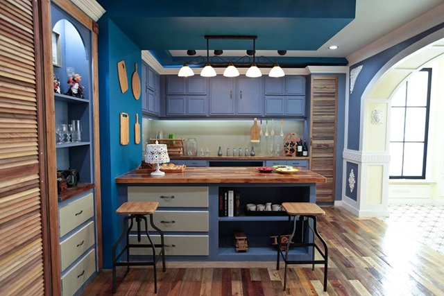 studio namu themed background kitchen