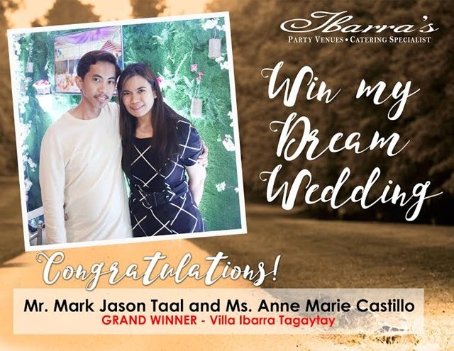 win my dream wedding promo