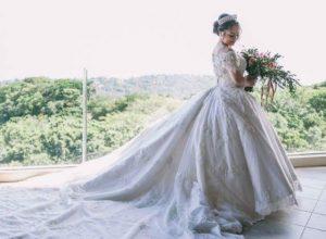 new creation fashion bridal gown