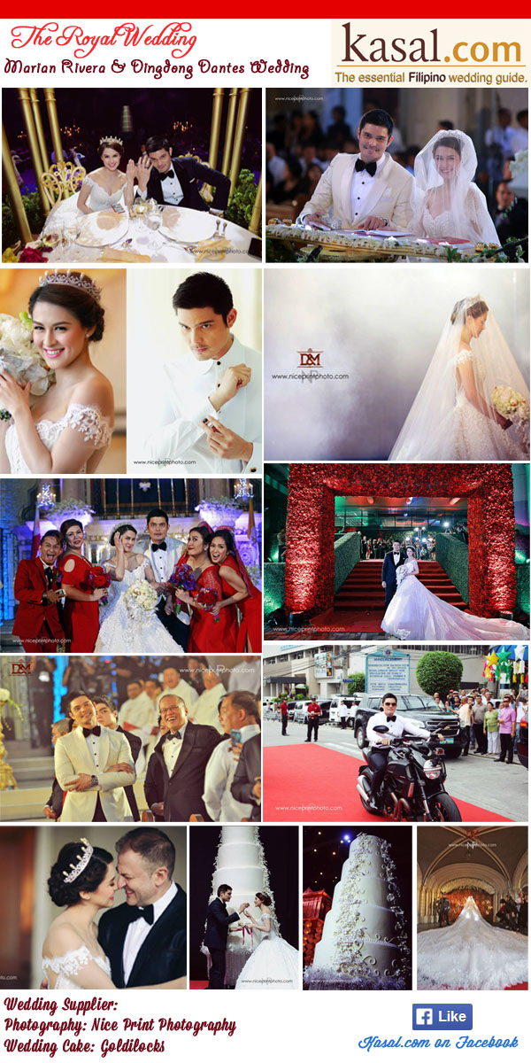 The Royal Wedding: Dingdong Dantes & Marian Rivera Wedding ...