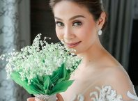 kay abad wedding bouquet
