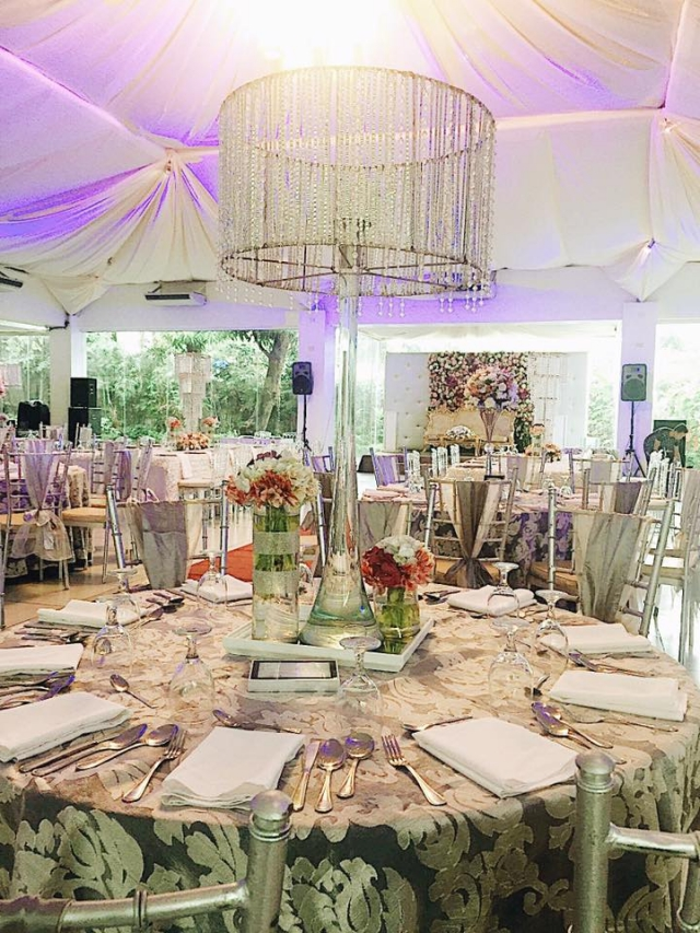 sitio elena floral studded wedding