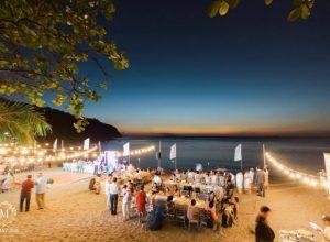 bohemian beach wedding solutions events