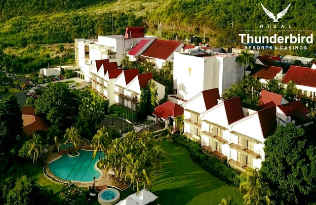 thunderbird resort rizal