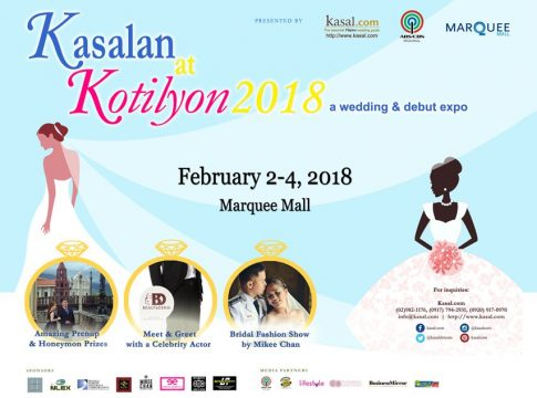 kasalan at kotilyon 2018