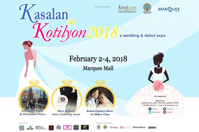 kasalan at kotilyon 2018