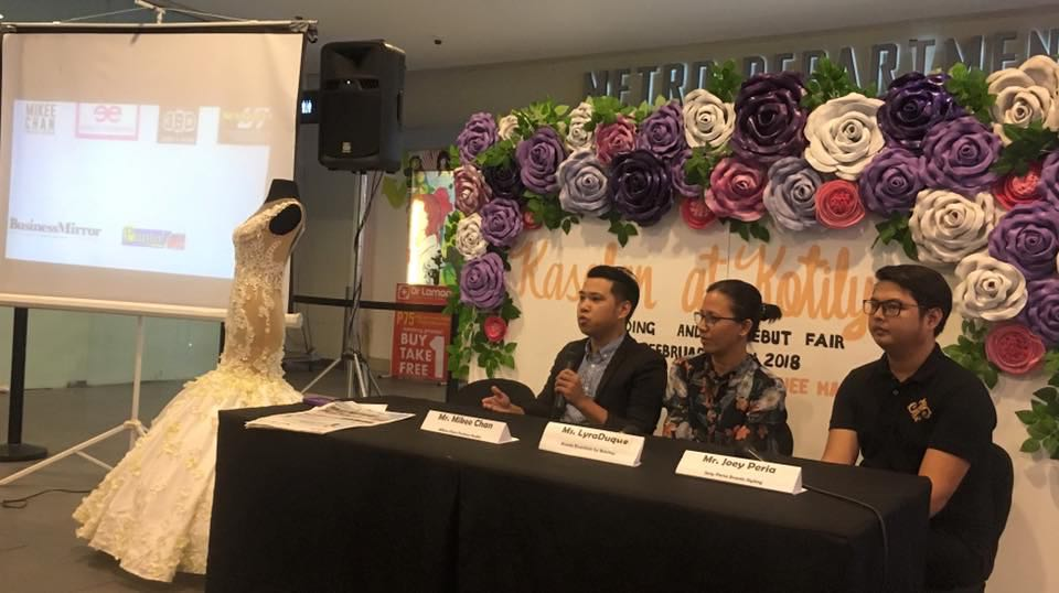 kasalan at kotilyon 2018 presscon