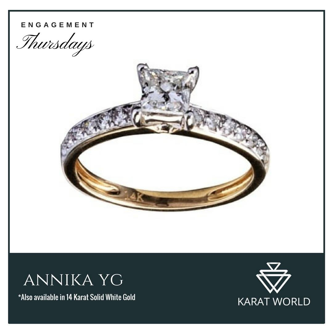 engagement ring karat world