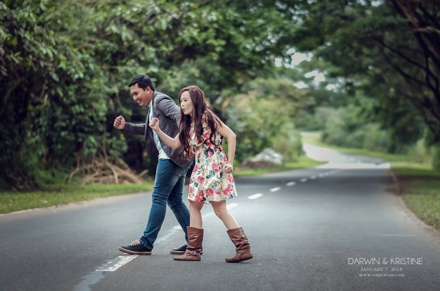 boho road trip prenup exposure photo video