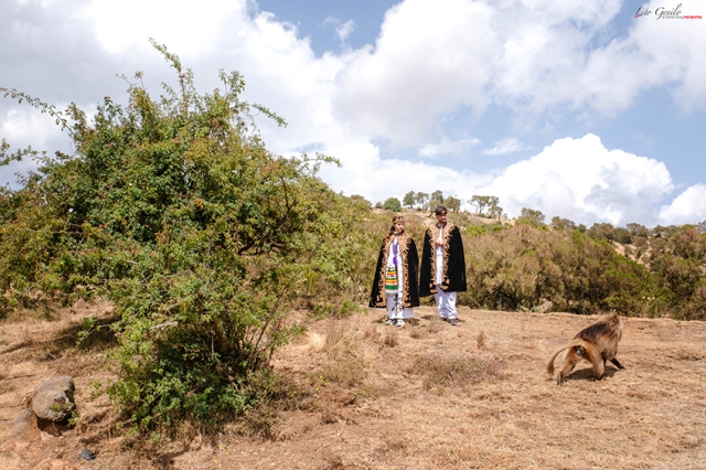coleen and billy in ethiopia with smart shot studio
